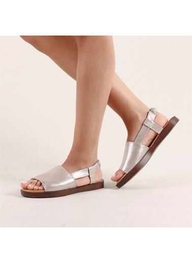 Hammer Jack Gümüş Kadın Terlik / Sandalet 542 597-Z Gümüş